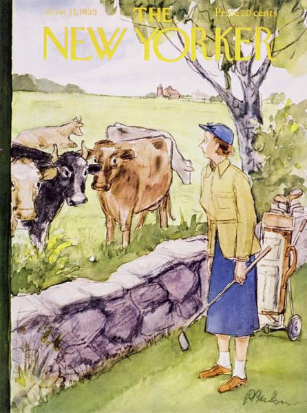 New Yorker June 11 1955 Poster