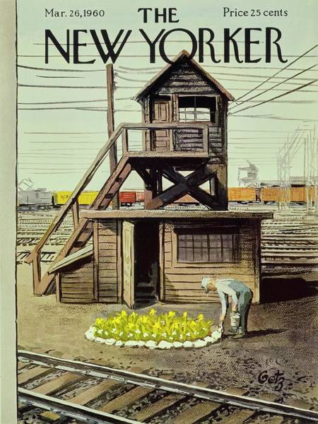 New Yorker March 26 1960 Poster