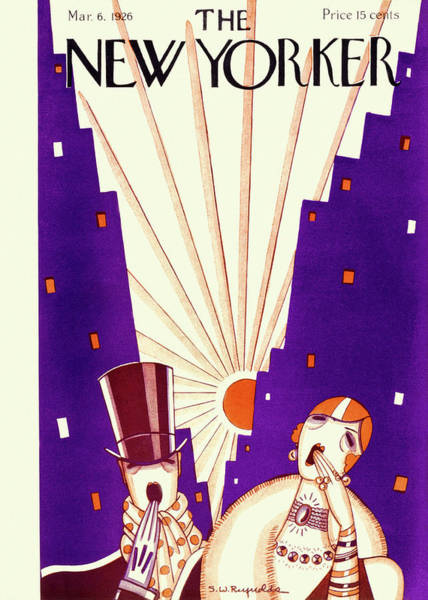 New Yorker March 6 1926 Poster