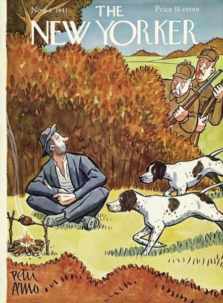 New Yorker November 8 1941 Poster