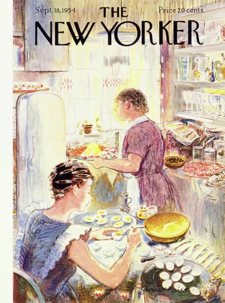 New Yorker September 18 1954 Poster