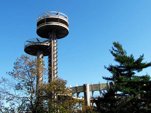 New York's 1964 World's Fair Observation Towers Poster