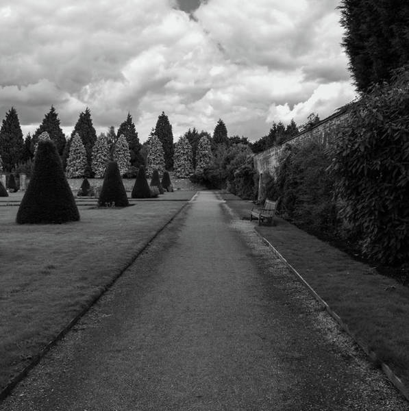 Poster featuring the photograph Newstead Abbey Country Garden Gravel Path by Scott Lyons