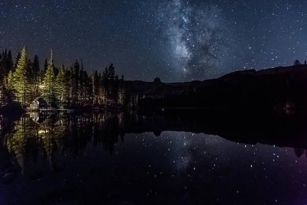 Night At Lake Mamie Poster