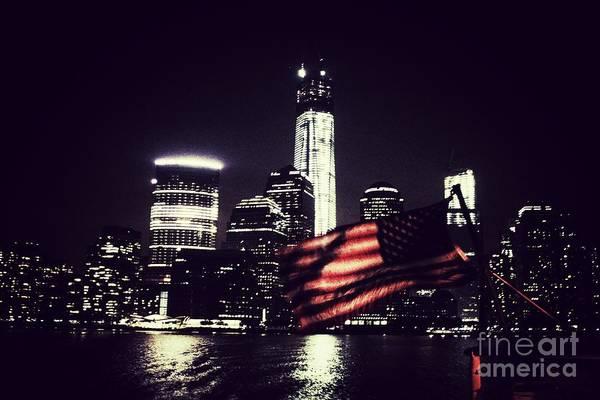 Night Flag Poster