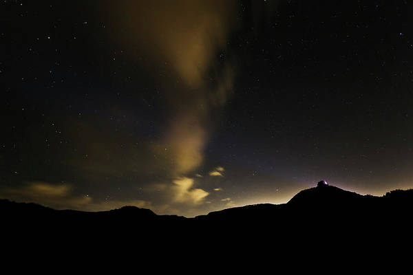 Night Time At Palo Duro Canyon State Park - Texas Poster