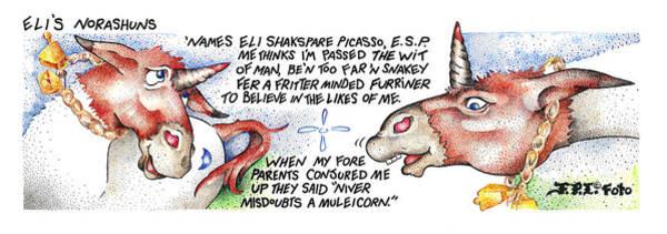 Niver Misdoubts Fpi Cartoon Poster