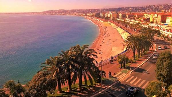 Nizza By The Sea Poster