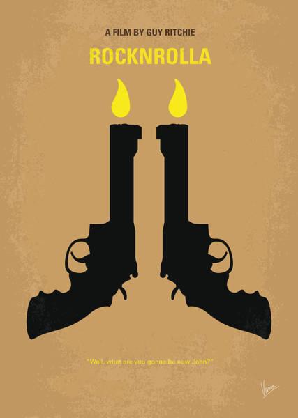 No071 My Rocknrolla Minimal Movie Poster Poster
