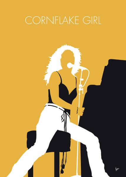 No094 My Tori Amos Minimal Music Poster Poster