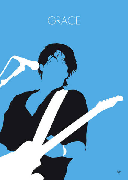 No129 My Jeff Buckley Minimal Music Poster Poster