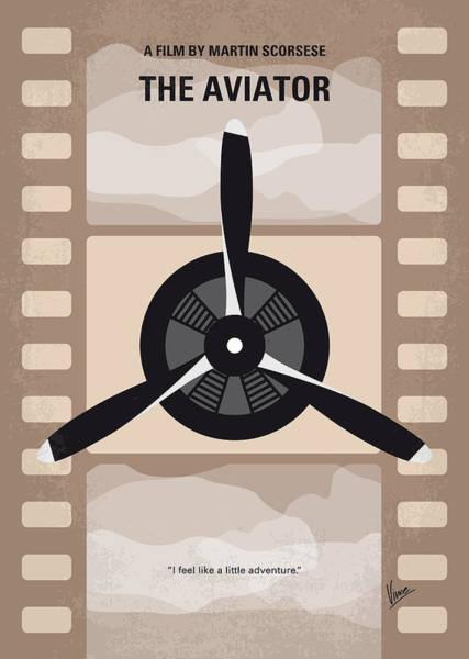 No618 My The Aviator Minimal Movie Poster Poster