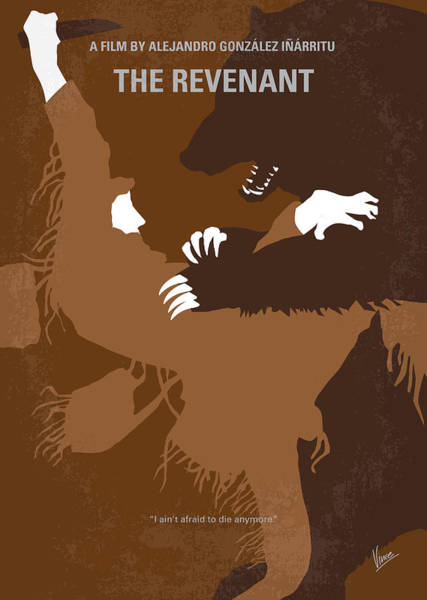 No623 My The Revenant Minimal Movie Poster Poster