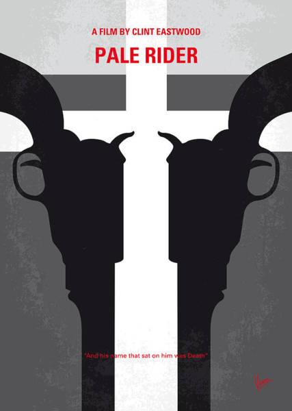 No640 My Pale Rider Minimal Movie Poster Poster