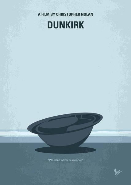 No905 My Dunkirk Minimal Movie Poster Poster