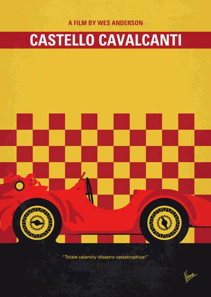 No927 My Castello Cavalcanti Minimal Movie Poster Poster