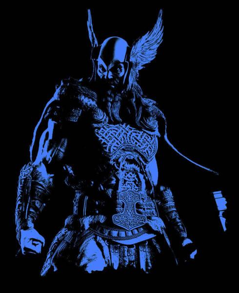 Nordic Warrior Poster