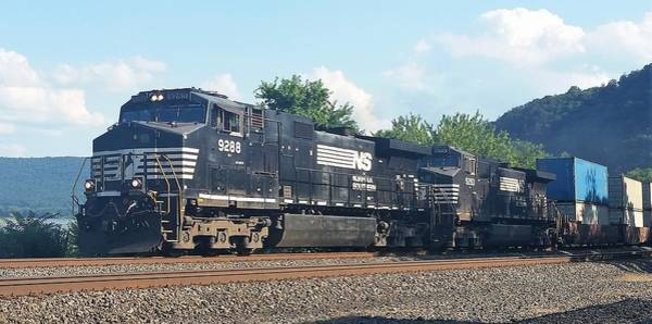 Norfolk Southern Ge C44-9w At Duncannon, Pa Poster