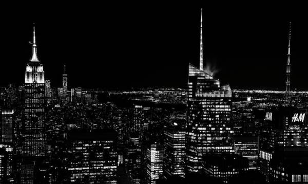 Poster featuring the photograph Nyc Nights by Rand