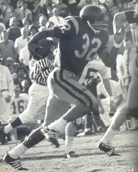 O J Simpson - Rose Bowl 1969 Poster