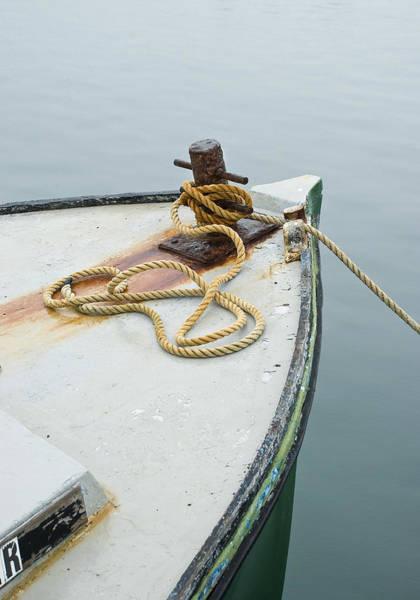 Oak Bluffs Fishing Boat Poster