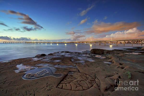 Ocean Beach Pier At Sunset, San Diego, California Poster