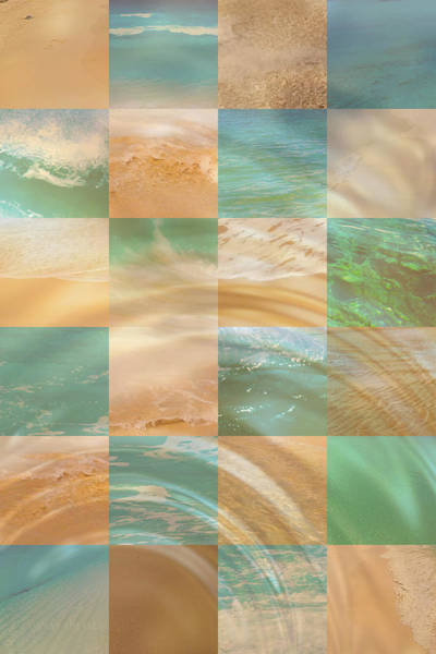 Ocean Ripples Poster