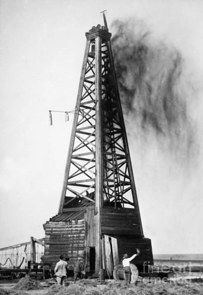 Oklahoma: Oil Well, C1922 Poster