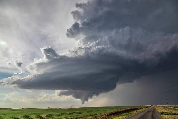 Oklahoma Panhandle Swirl Poster