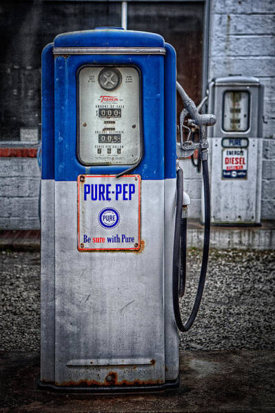 Old And Rusty  Pump  Poster