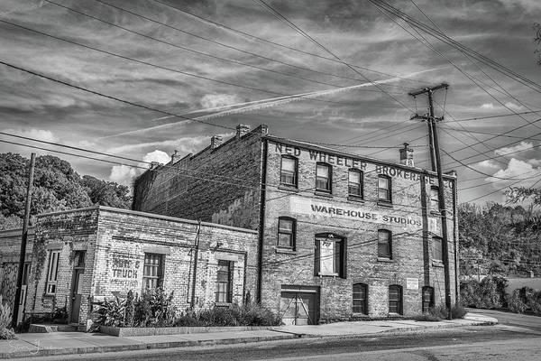 Old Asheville Building Poster