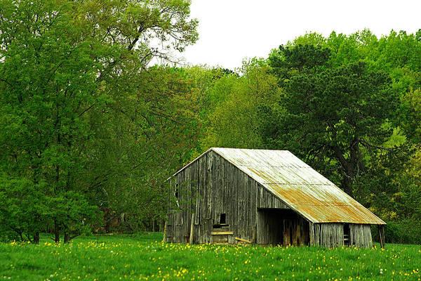 Old Barn V Poster