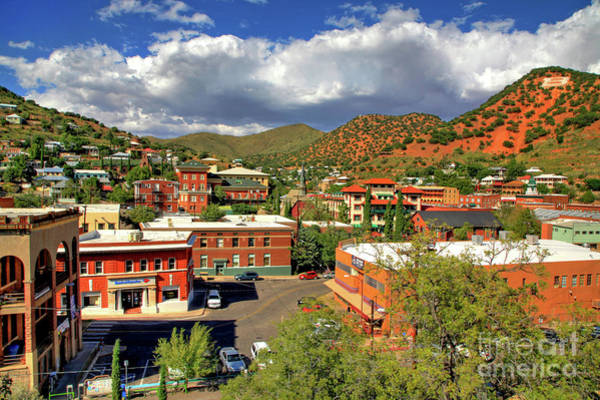 Old Bisbee Arizona Poster