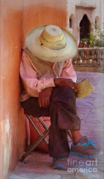 Old Man In Atottonilco Poster
