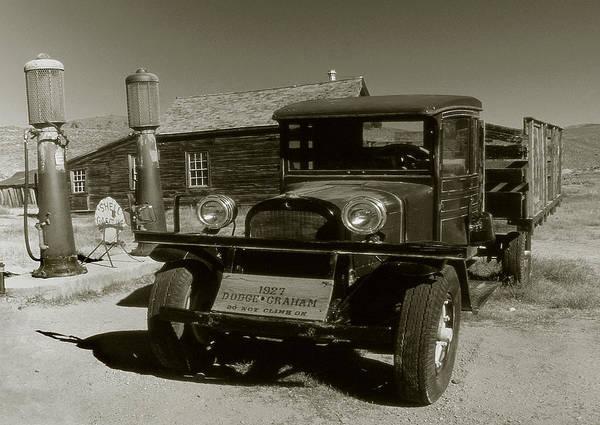 Old Pickup Truck 1927 - Vintage Photo Art Print Poster