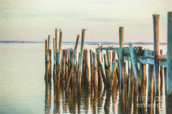 Old Provincetown Wharf Poster