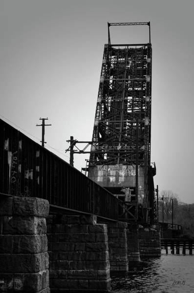 Old Rr Bridge Providence Ri Poster