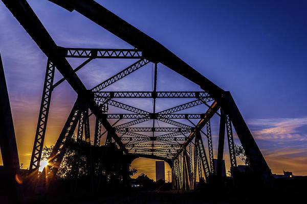 Old Steel Bridge Poster