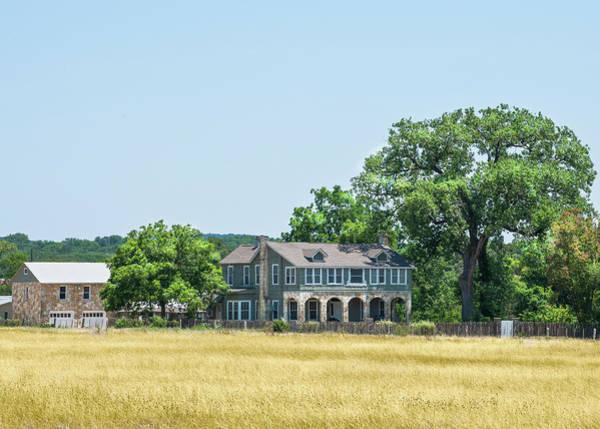 Old Texas Farm House Poster