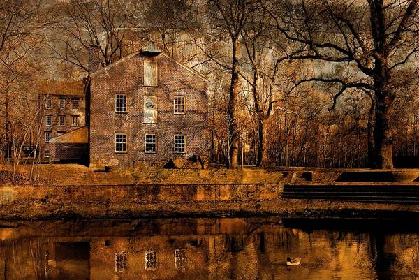 Old Village - Allaire State Park Poster
