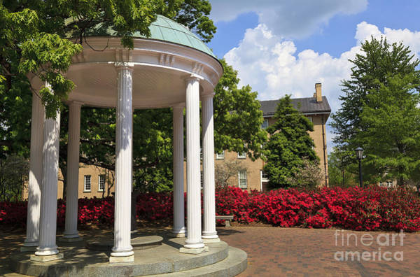 Old Well At Chapel Hill In Spring Poster