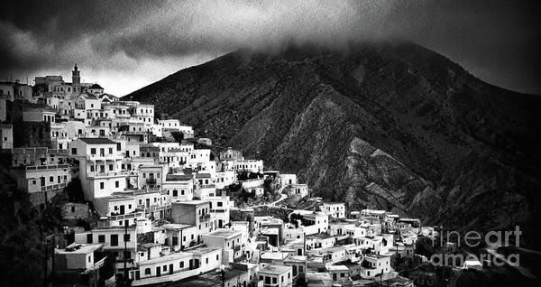 Olympos. Karpathos Island Greece Poster