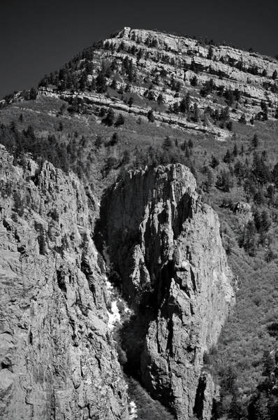 Poster featuring the photograph On Sandia Mountain by Ron Cline