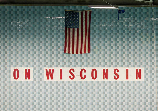 On Wisconsin  Poster