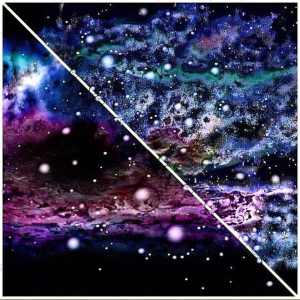 Only Bubbles Cross The Galactic Barrier Poster