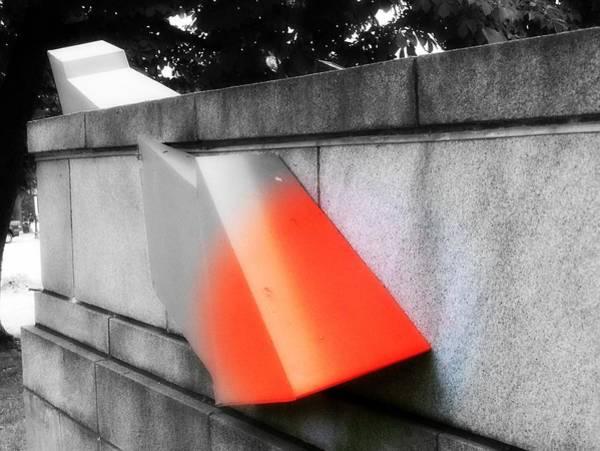 Orange Tipped Arrow Poster