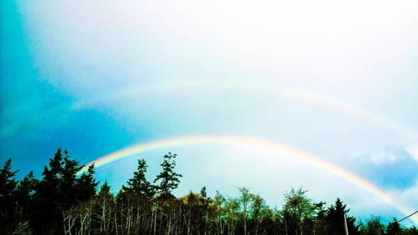 Oregon Double Rainbow Poster