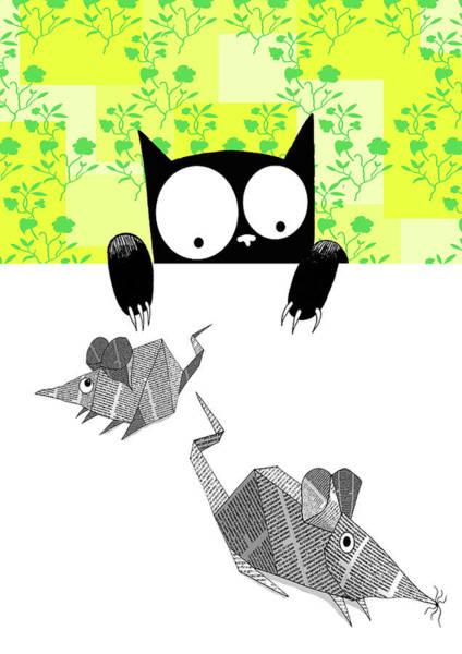 Origami Mice  Poster