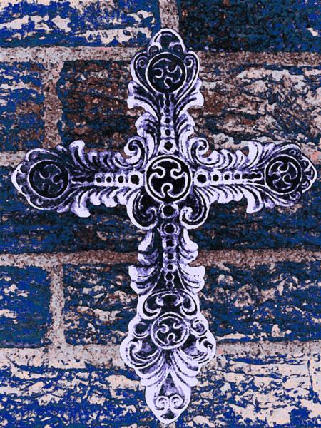 Ornate Cross 2 Poster