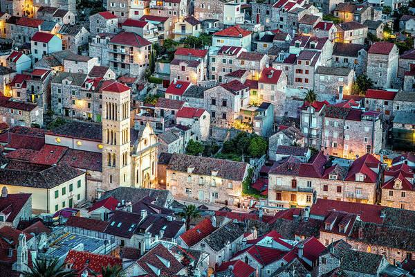 Overlooking Hvar, Croatia Poster